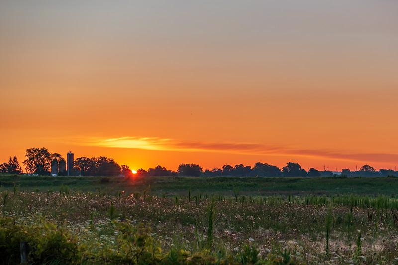 Sunrise Near Waupun, WI