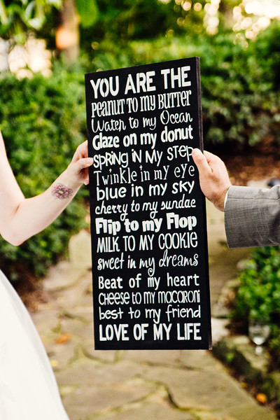 you are the love of my life sign