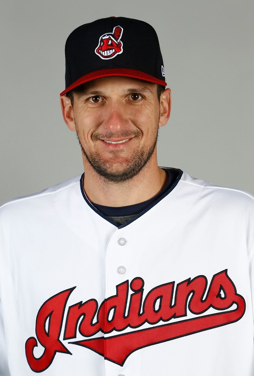 . Cleveland Indians pitcher Dan Otero poses for a picture on photo day at the team\'s baseball spring training facility Friday, Feb. 24, 2017, in Goodyear, Ariz. (AP Photo/Ross D. Franklin)