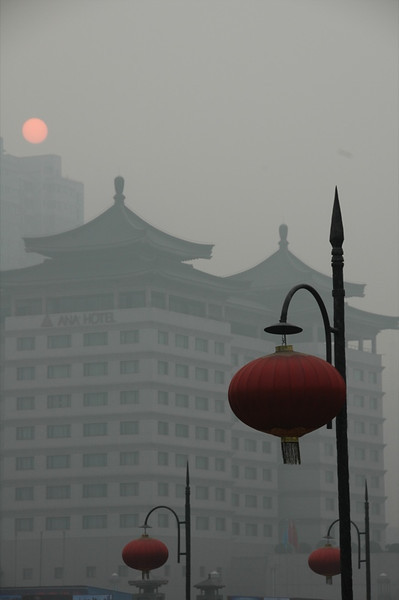 Winter Sun in Xi'an - Xi'an, China