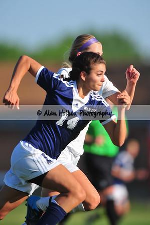 Ladies Varsity Soccer - Haslett at Okemos