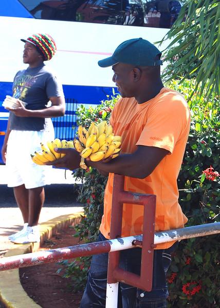 Rest stop banana vendor - Lou Tucciarone