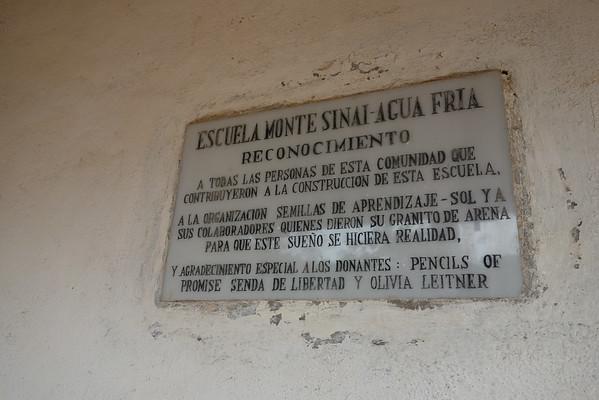 Agua Fria, Matagalpa April 2014 site visit