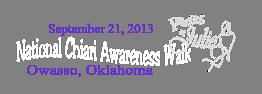 National Chiari Awareness Walk 2013