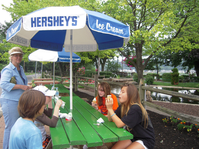 Good Ole Hershey Ice Cream.