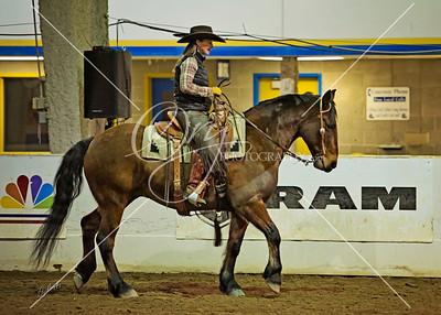 RMHE Justin Dunn Mustang Horsemanship 3.6.14