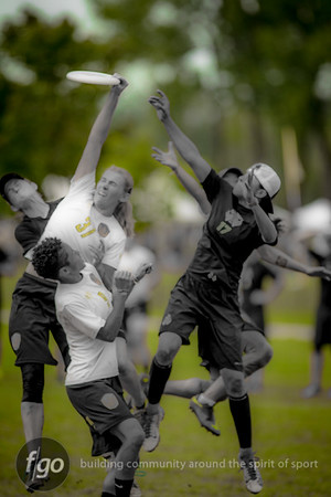 8-8-14 USA Scandal v USA Riot Women's Division Friday Semis at WFDF 2014 World Ultimate Club Championships