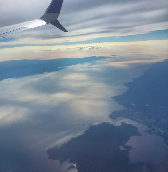 Salish Sea (use to be called Juan de Fuca Straits)