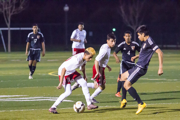 02-11-2016 Woodlake @ Lindsay Boys Soccer