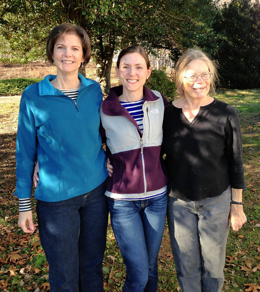 Mom, me & Gma Maggie