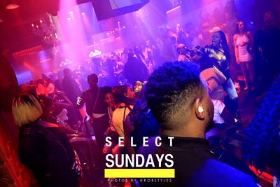 Select Sundays JAN 27th
