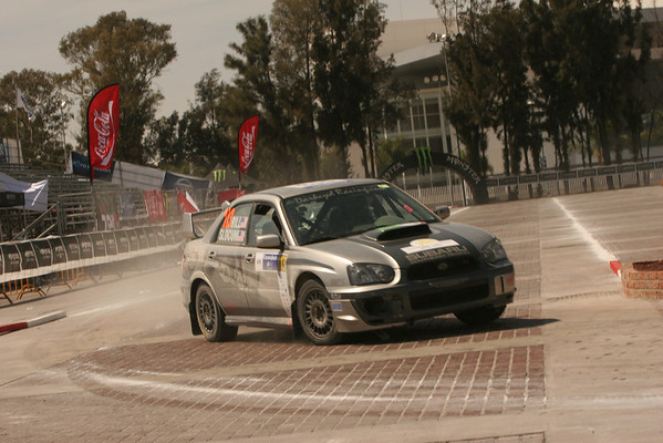Rally America Cars On Stage Friday