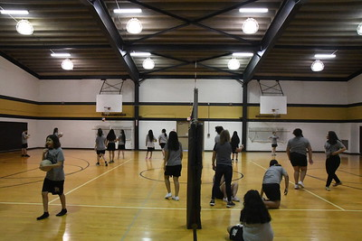 2019 Volleyball Practice
