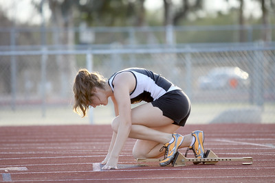 2011 GHS Track vs Mesa High School