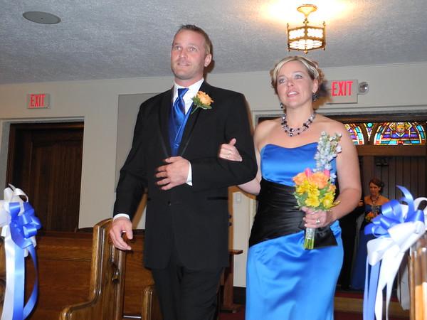 Leslie & Aaron Boyer Wedding 10-06-2012