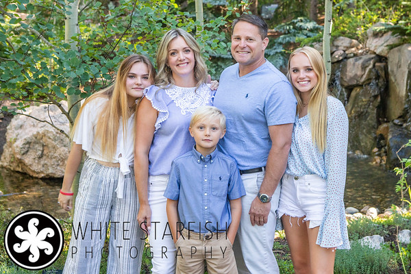 Vail Family Photos - Betty Ford Alpine Gardens - Parker