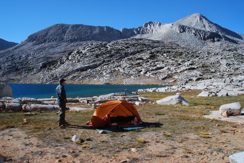 (2008 September 1-4) Pine Creek, Italy Pass, Lake Italy, Granite Basin.  Inyo National Forest, California.