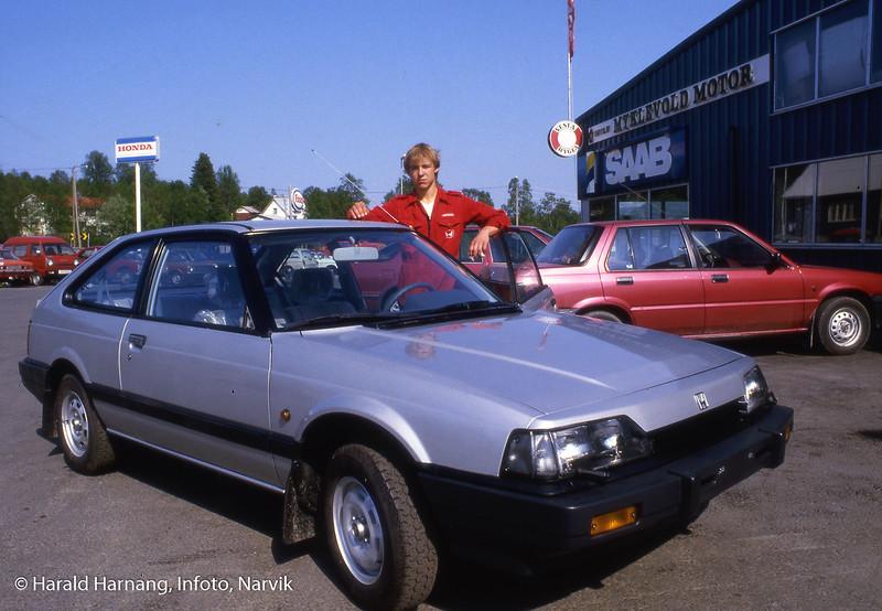 Ballangen kommune feiret jubileum, og Infoto tok en del bilder til kommunen.  Ben Myklevold, ansatt hos sin fars bilforretning.