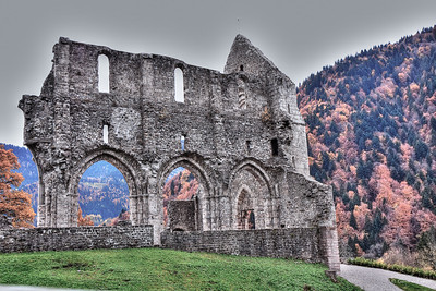 Sur la route de Morzine à Genève - Haute Savoie (France) - Suisse