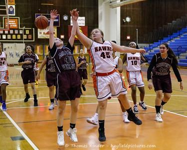 Girls Frosh Basketball v Mount Vernon 1/22/19