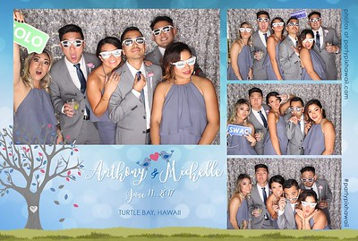 Michelle & Anthony's Wedding (LED Open Air Photo Booth)