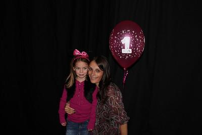 Hannah's 1st Birthday Photo Booth