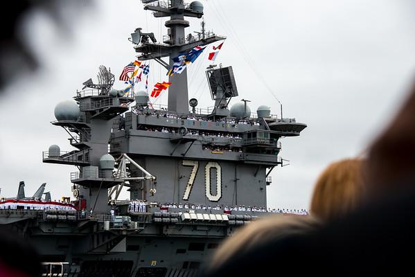 USS Carl Vinson Homecoming2015