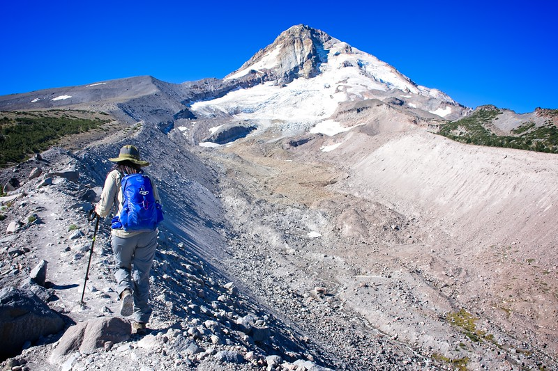 A hike up Cooper Spur