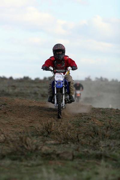 2009 Desert 100 Kids Race #2- Blue Bikes