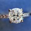 .81ct Old European Cut Diamond in Brian Gavin Setting 5