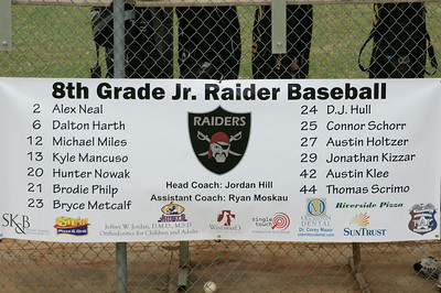 061408 Jr Raiders Baseball 8th vs Centennial