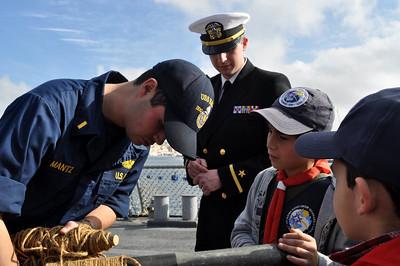 US Warship - USS Barry - Sunday 30th January 2011