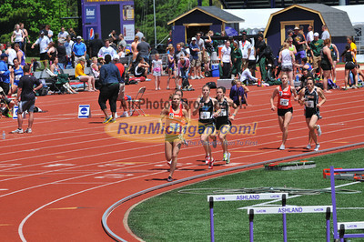 Women's 800 Final - 2013 GLIAC Outdoor Track and Field Championships