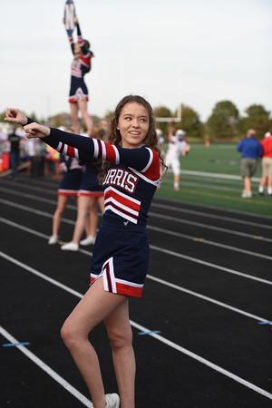 Cheerleaders - Elkhorn FB game