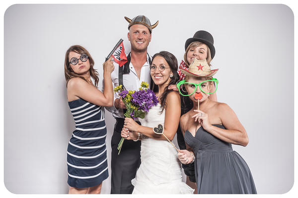 Jacqueline + Christopher Wedding Photobooth