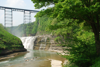 Ceremony in Letchworth State Park, Middle Falls
