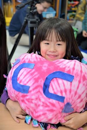 Pillow Present Day in Kindergarten!