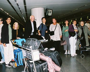 Return from Prague