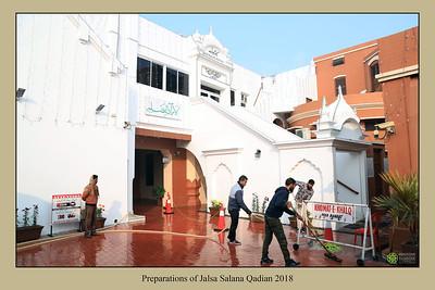 Preparations of Jalsa Salana Qadian 2018