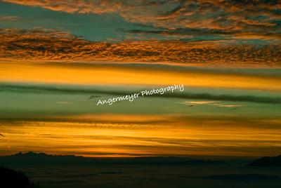 Skies of Saturna Island