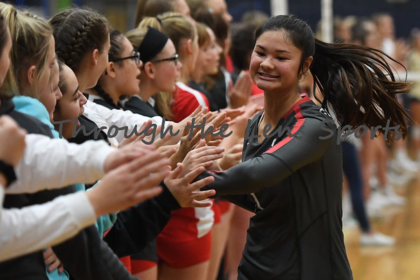 West Albany vs. South Albany High School Volleyball