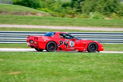 2021 SCCA Pitt Race Aug TT Warm 94 Vette