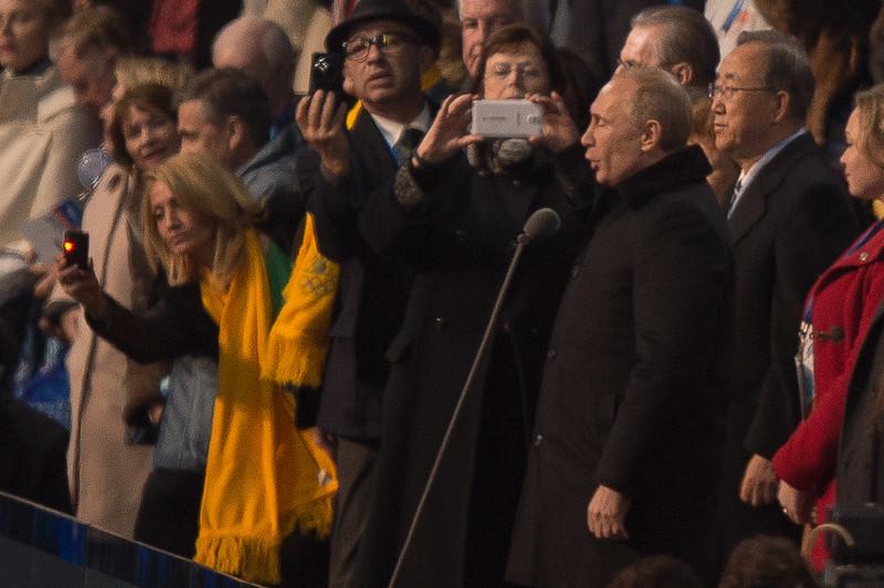 Putin avaa kisat