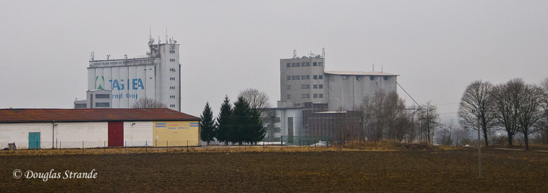 Grain elevators in the Czech rural areas