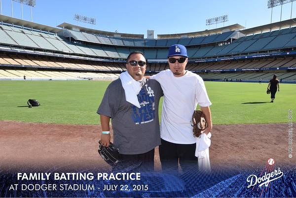 Employee & Family Batting Practice