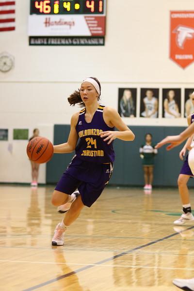 Basketball Girls Varsity vs Hackett - KCHS - 2/16/18