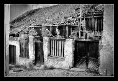 BARNS AND HOUSES