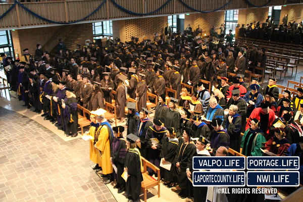 Valparaiso University Winter Commencement 2015