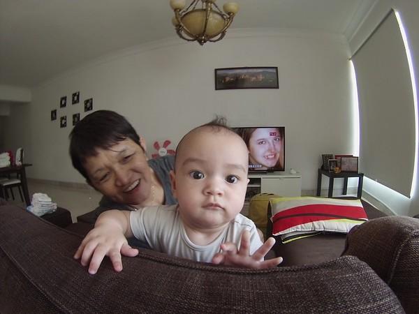 Kaleya and her grandmother