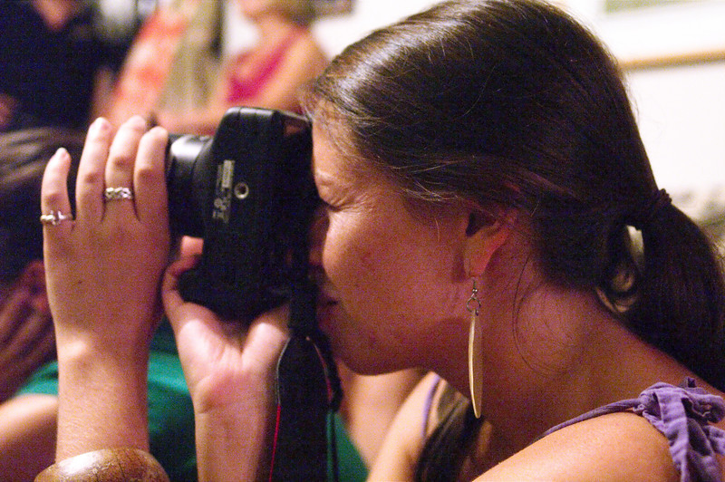 photographers can't resist taking photos of each other.